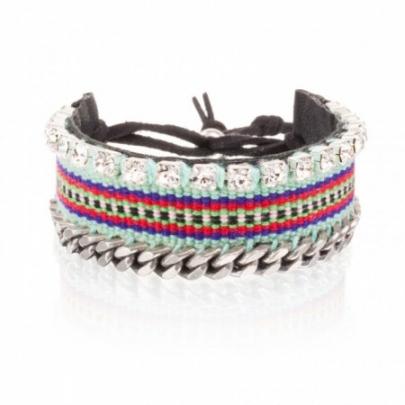 bracelet-woven-bling-turquoise