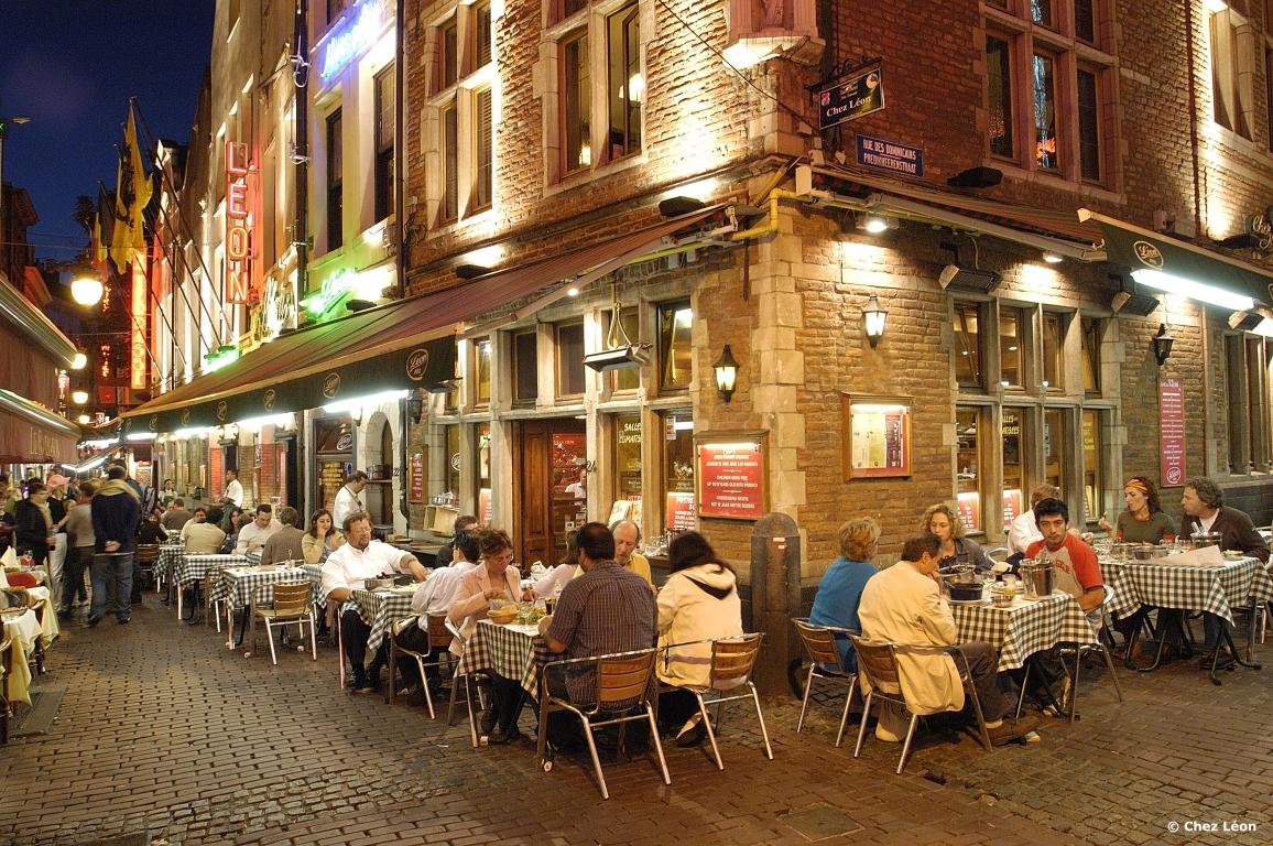Concours repas au restaurant chez l on bruxelles - Restaurant cuisine belge bruxelles ...