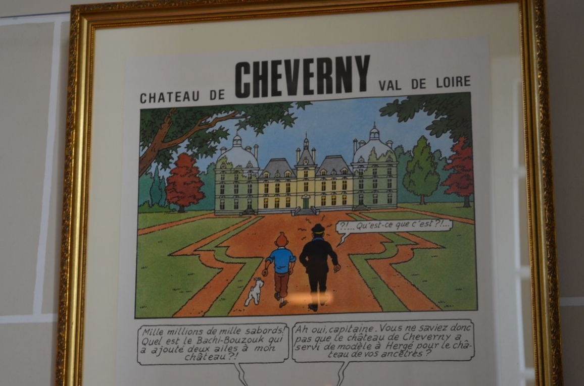 le ch teau de cheverny sur les traces de tintin. Black Bedroom Furniture Sets. Home Design Ideas