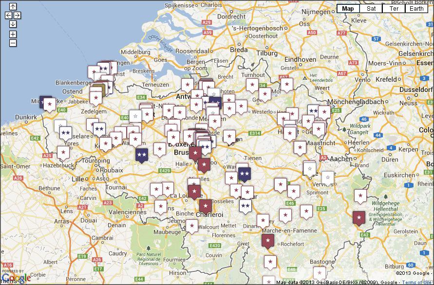 guide michelin 2014 voici la nouvelle liste des restaurants toil s en belgique. Black Bedroom Furniture Sets. Home Design Ideas