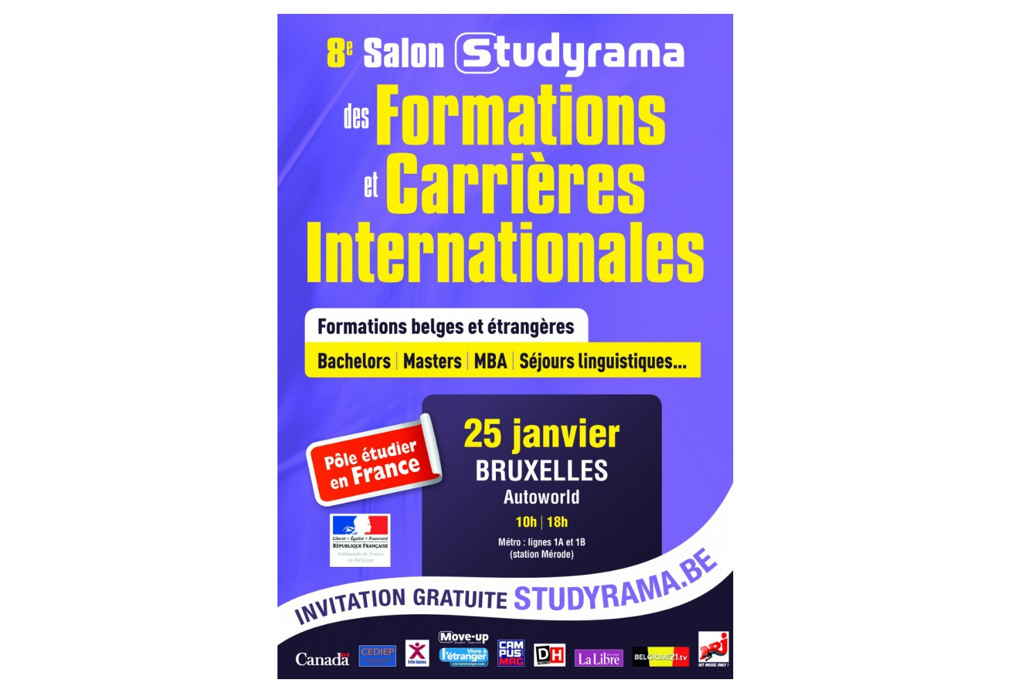 Concours salon studyrama for Salon porte de champerret studyrama