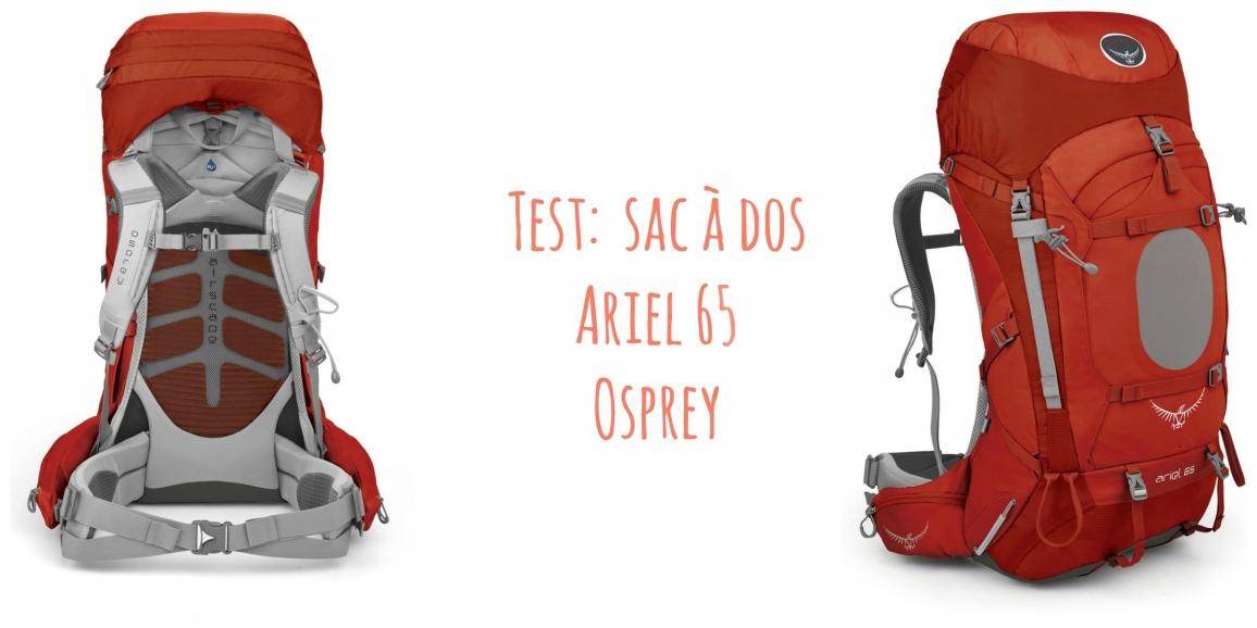 65l Ariel Femmes Sac Dos Test Pour À Du D'osprey qVULSpMzG