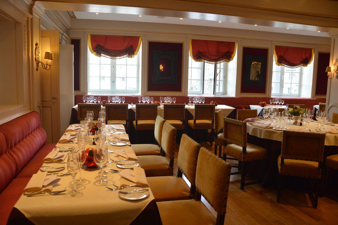 Carte Du Restaurant L Ecrin