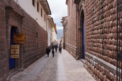 Rue typique du coeur de Cuzco