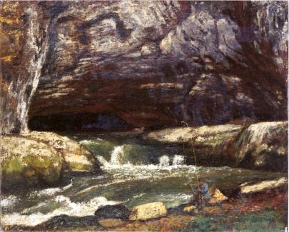 Gustave Courbet, La grotte Sarrazine