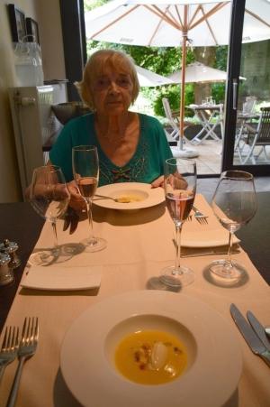 Lors d'un de nos lunchs aux Trois Petits Bouchons, notre restaurant préféré près de Charleroi !