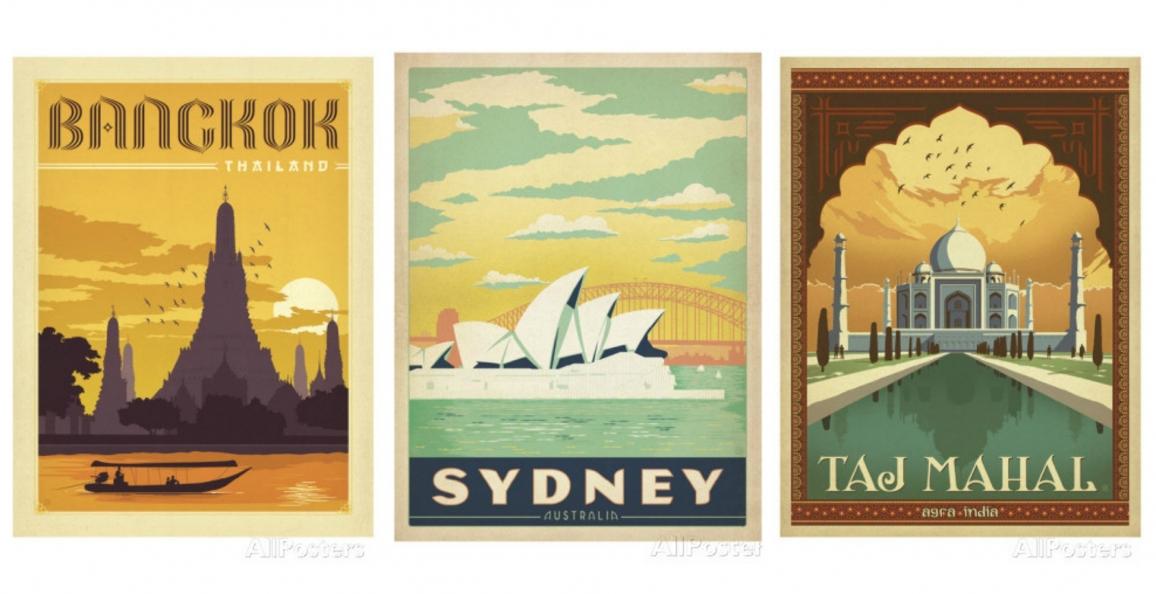 Concours Allposters.be : gagnez une affiche de voyage ...