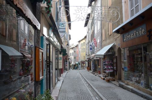 Les petites rues de Briançon