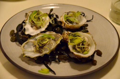 Les huîtres selon Bouchéry, un délice