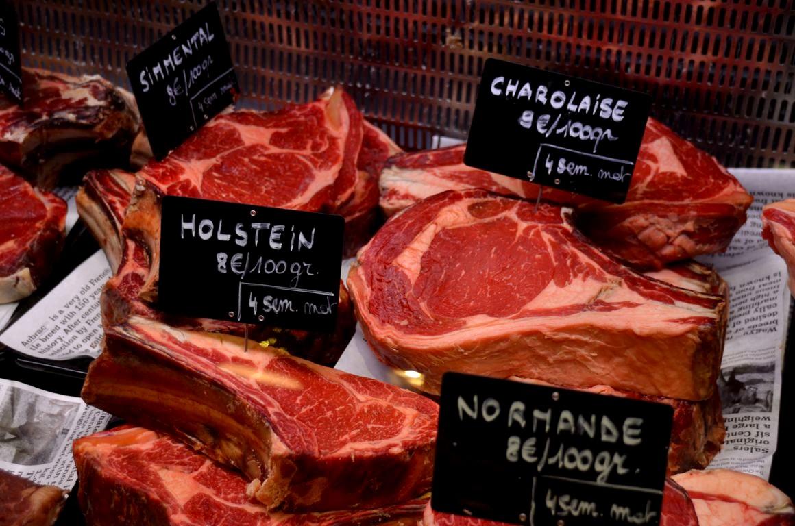 Le colonel le meilleur restaurant viande de bruxelles - Cote de boeuf a la cocotte ...