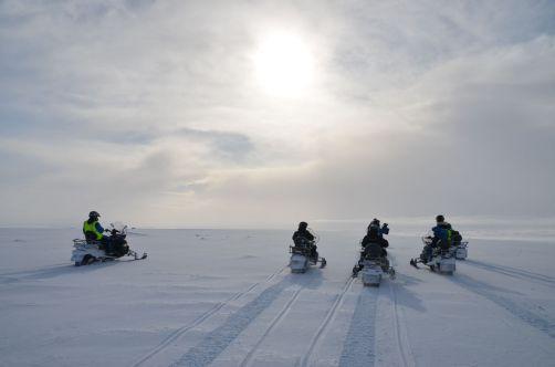 Faire de la motoneige sur un glacier, une expérience à ne pas rater !
