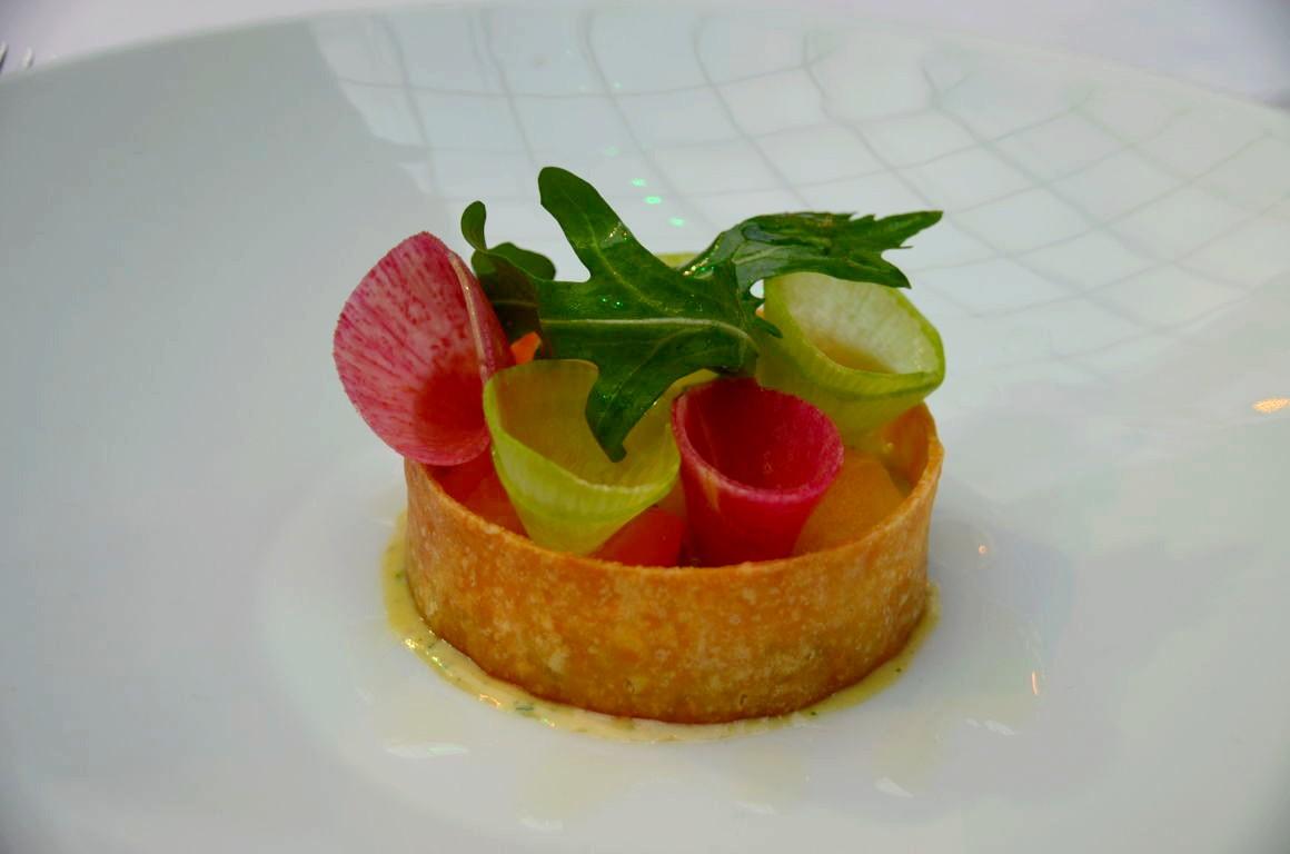 Un restaurant ph m re par thierry marx et pierre wynants for Entree gastronomique