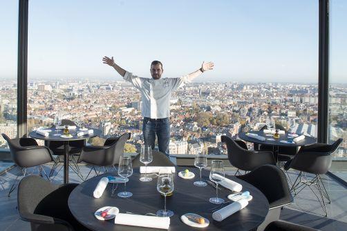 C'est ce que j'appelle un lunch avec vue ! Crédit photo : La Villa in the Sky