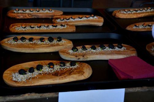 Croustillant de pâtes, mayonnaise d'anchois, tomate confite - Olivier Bourguignon