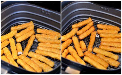 Les nuggets (Kip Fingers) avant - après