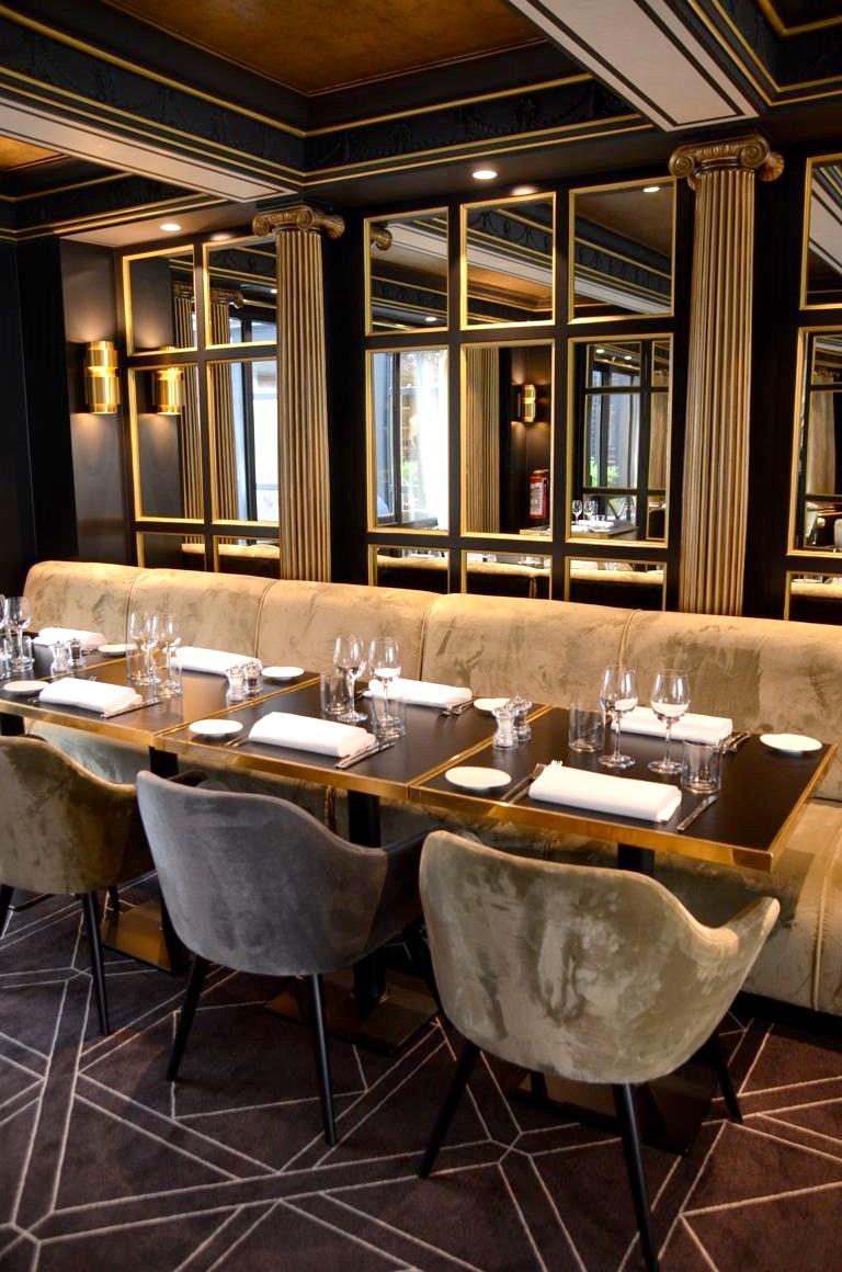 The avenue le nouveau restaurant de l 39 h tel barsey - Architecte d interieur bruxelles ...