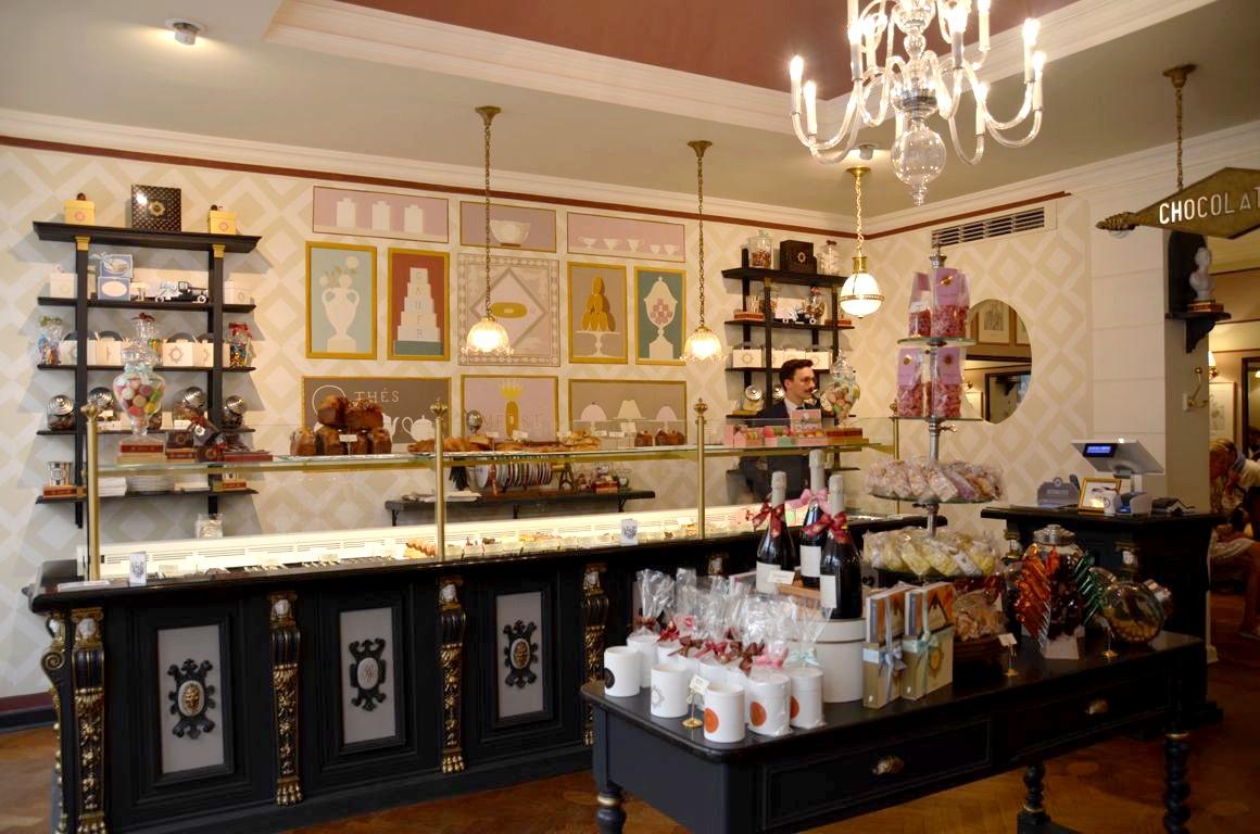 Le salon de th m ert bruxelles et ses gaufres la vanille - Salon de la gastronomie lille ...