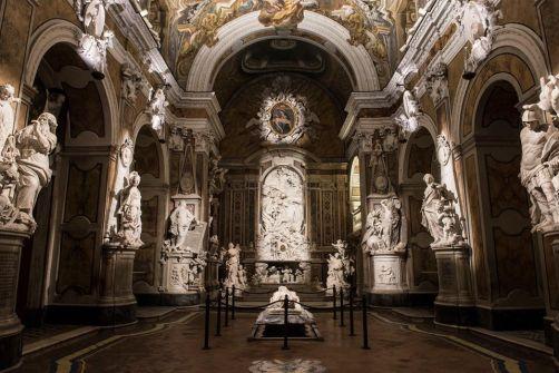 Veduta generale Cappella Sansevero Photo de Marco Ghidelli © Archivio Museo Cappella Sansevero