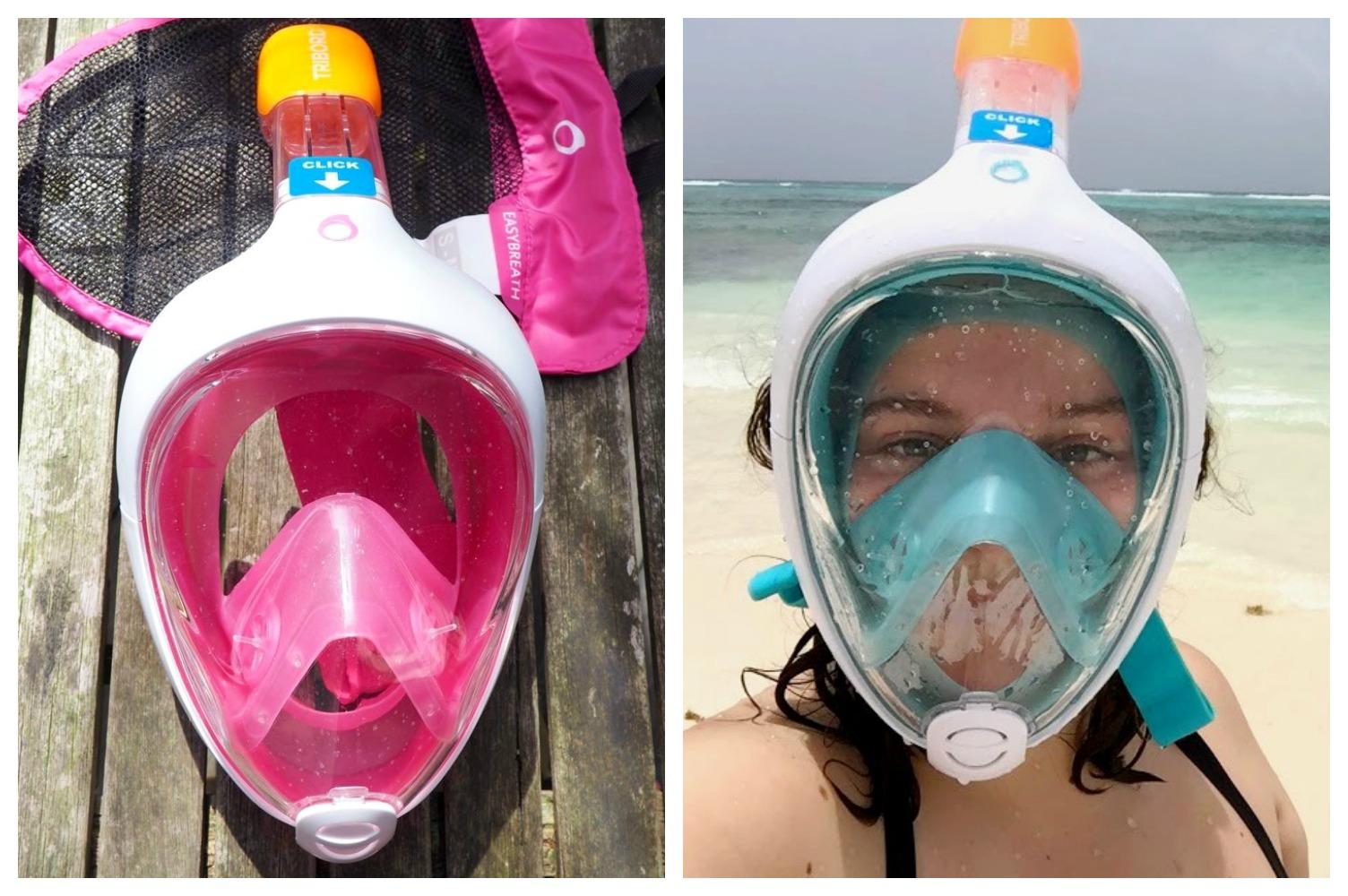 date de sortie rechercher le meilleur dernière vente J'ai testé le masque Easybreath de Decathlon (snorkeling au ...